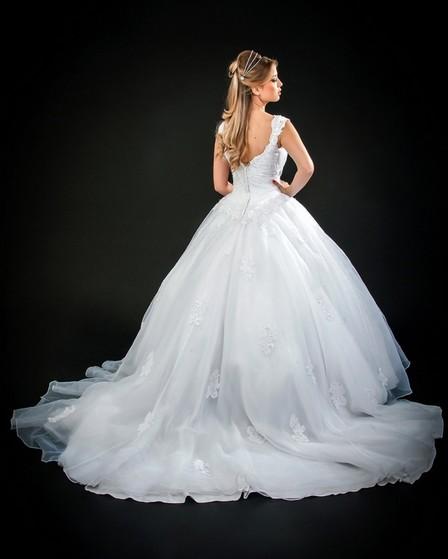 Vestido de Noiva Princesa Vila Mariana - Vestido de Noiva Princesa