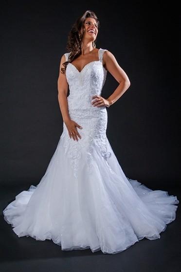 Vestido de Noiva Sereia Preço Penha - Vestido de Noiva de Renda