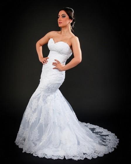 Vestido de Noiva Serra da Cantareira - Vestido de Noiva de Renda