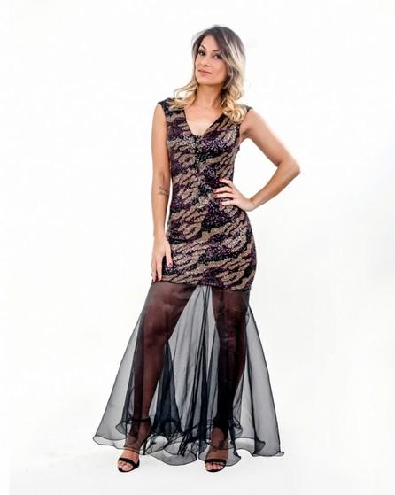 Vestido para Festa de Renda Jardim Europa - Vestido de Festa