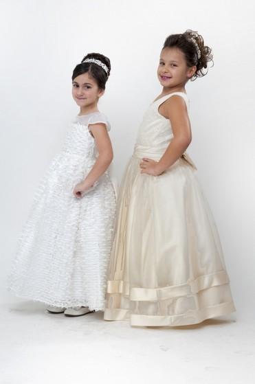 Vestidos de Daminhas para Casamento Preço Glicério - Vestidos de Daminhas Branco